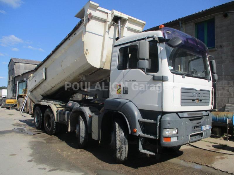 Camion MAN TGA 35.400 Benne Benne TP