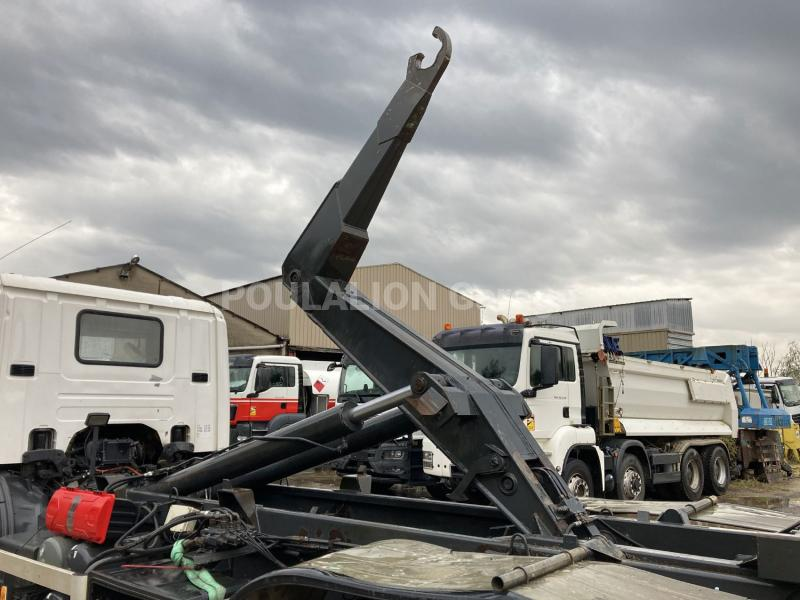 Camion Scania P 380 CB Polybenne
