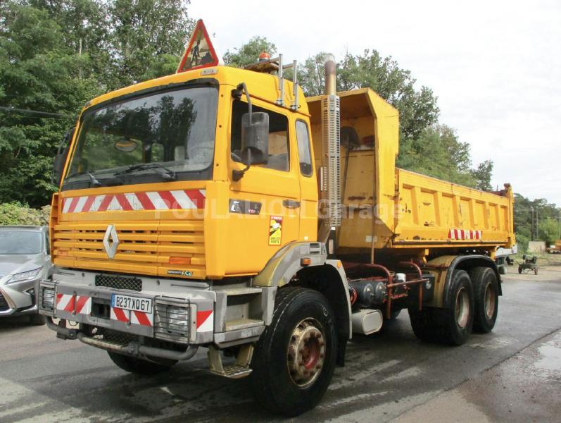 Camion Renault Gamme G 300 Maxter Benne Bi-benne