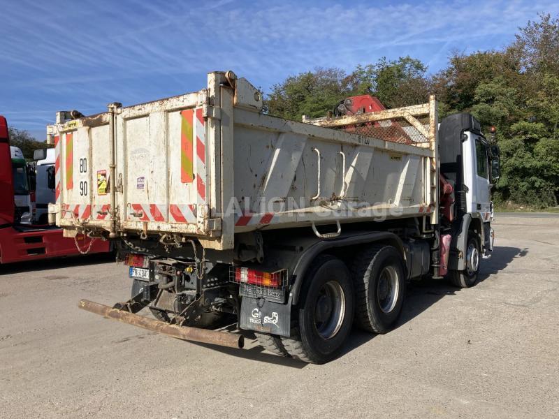 Camion Mercedes Actros 2632 Benne Bi-benne