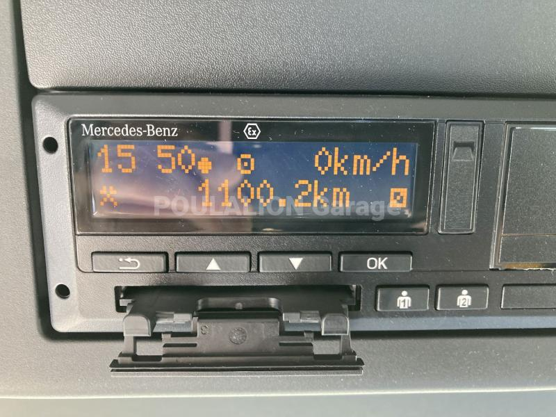 Camion Mercedes Arocs 2640 Benne Bi-benne