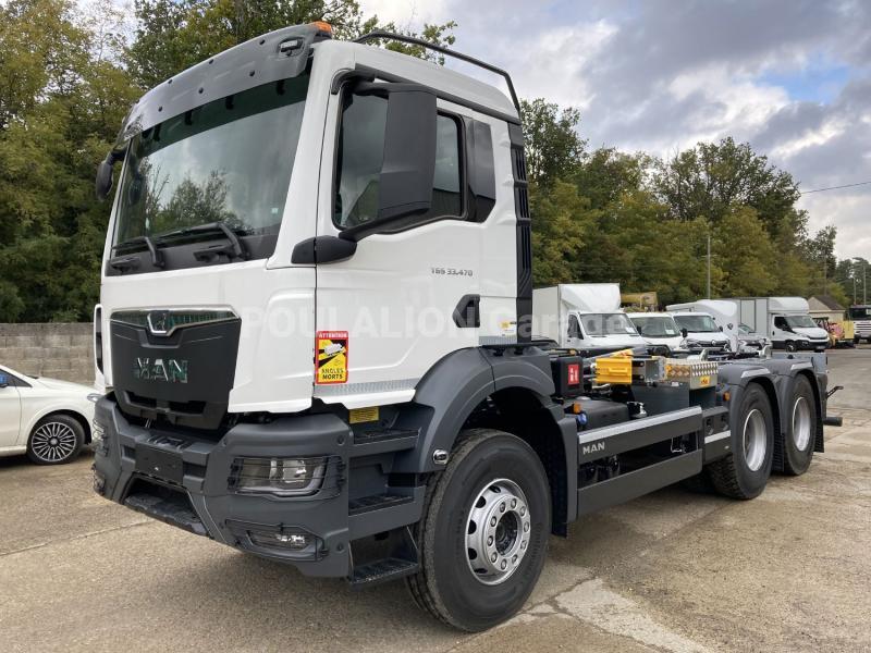Camion MAN TGS 33.470 Polybenne