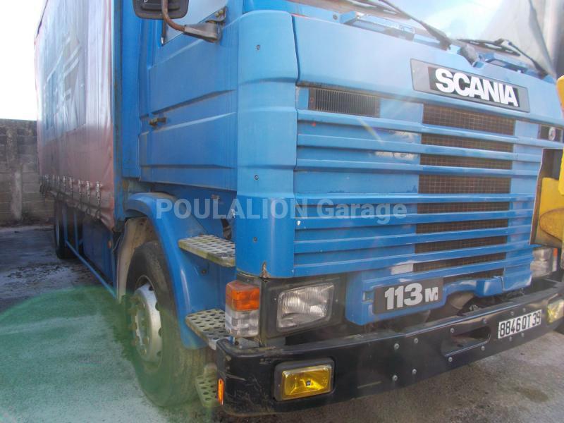 Camion scania r 113r320 rideaux coulissants plsc for Garage mercedes bonneuil sur marne