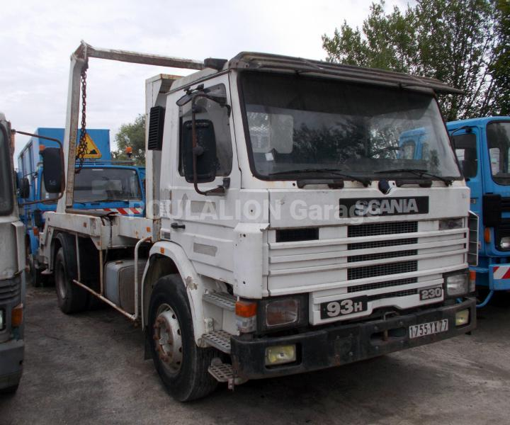 Camion scania h 93h230 multibenne garage g rard poulalion for Garage poids lourds paris