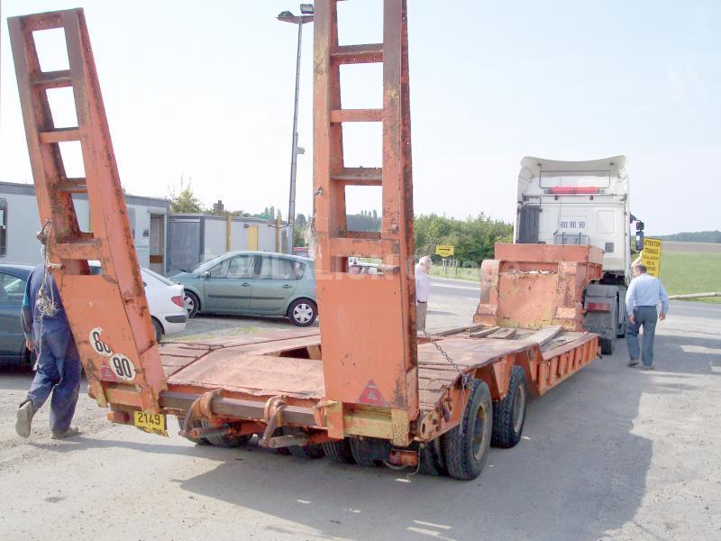 Semi-remorque Kaiser SSB45 Porte engins