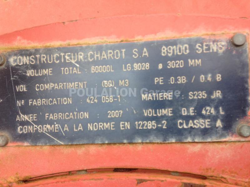 Pièces détachées Charot Autres pièces détachées