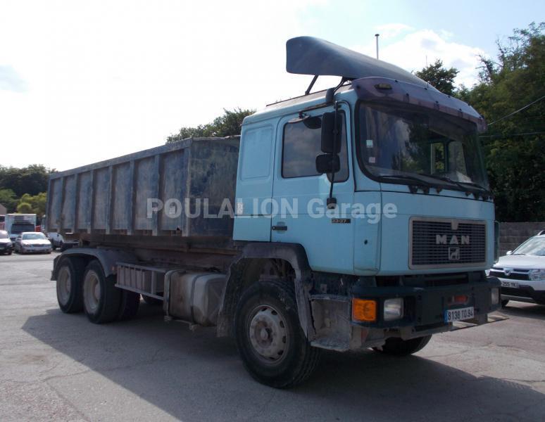 Camion man f2000 polybenne garage g rard poulalion for Garage mercedes bonneuil sur marne