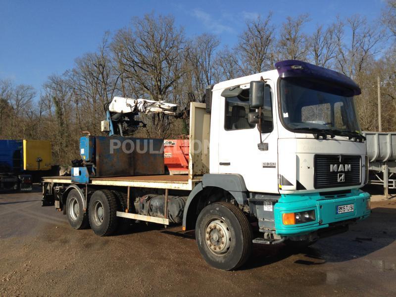 Camion MAN F2000 26.343 Plateau