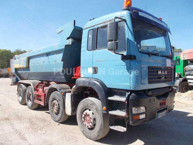 Camion MAN TGA 33.390 Benne Benne arrière