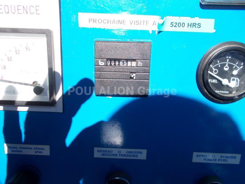 Matériel de chantier Mecc Alte 110kVA Groupe électrogène