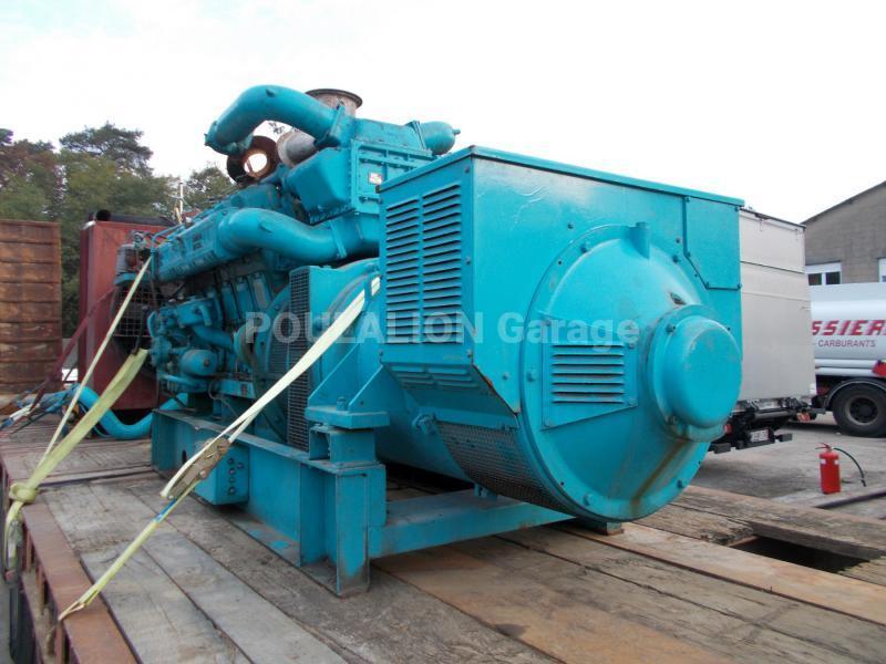 Matériel de chantier Poyaud 750 kVA Groupe électrogène