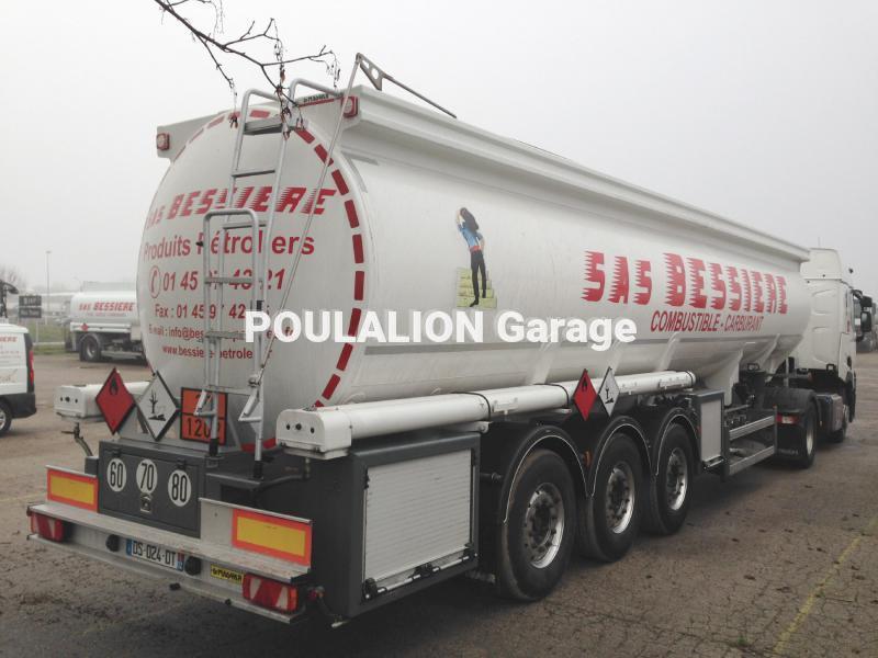 Semi remorque magyar garage g rard poulalion for Garage poids lourds paris