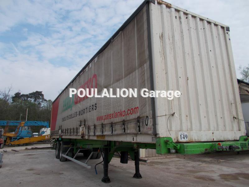 Semi remorque trouillet garage g rard poulalion for Garage poids lourds paris