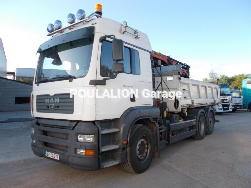 Camion MAN TGA 26.530 Benne Bi-benne