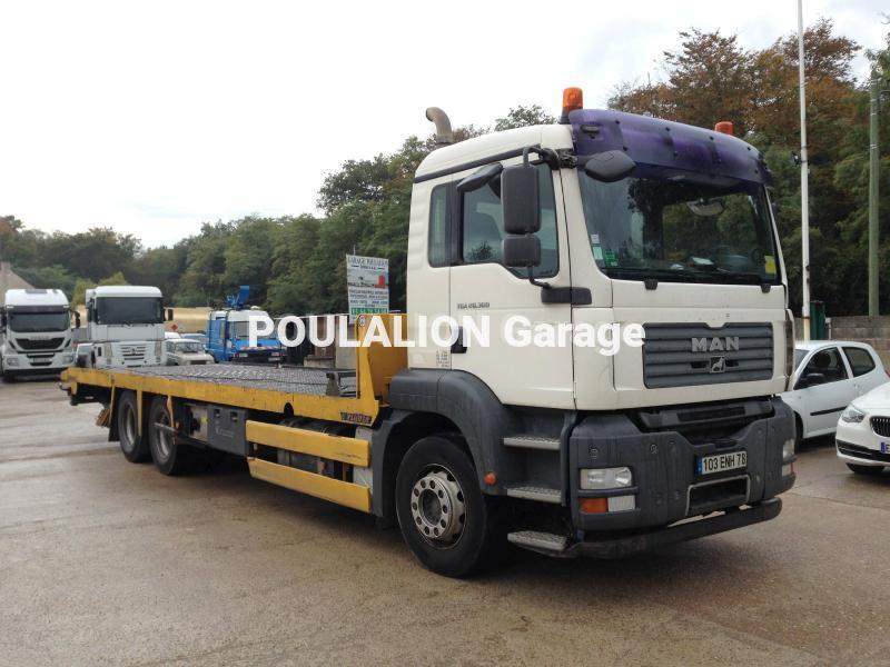 Camion MAN TGA 28.360 Porte engins