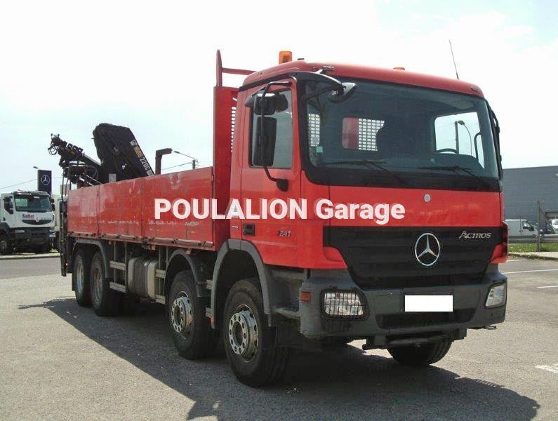 Camion Mercedes Actros 3241 Plateau