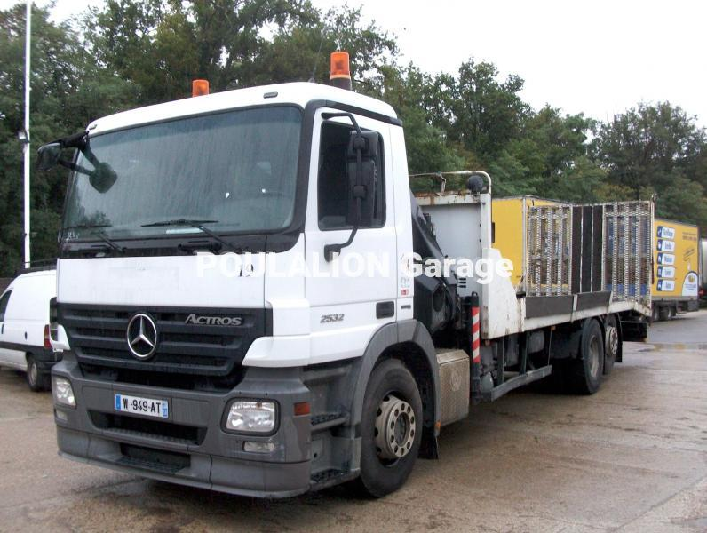 Camion mercedes actros garage g rard poulalion for Garage mercedes occasion meaux