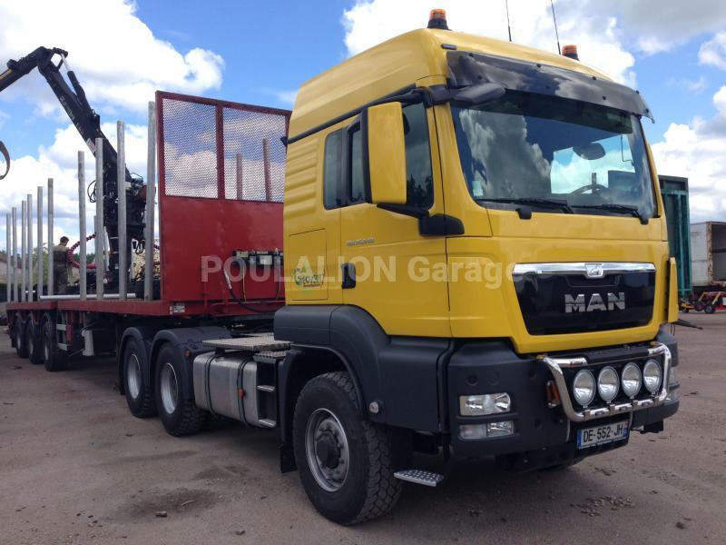 Tracteur MAN TGS 26.540