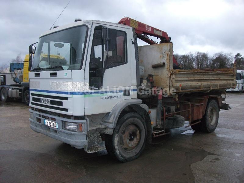 Camion Iveco Tipper 150E18 Benne Bi-benne