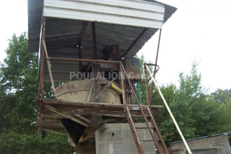 Matériel pour béton Fabrication Artisanale Centrale à béton