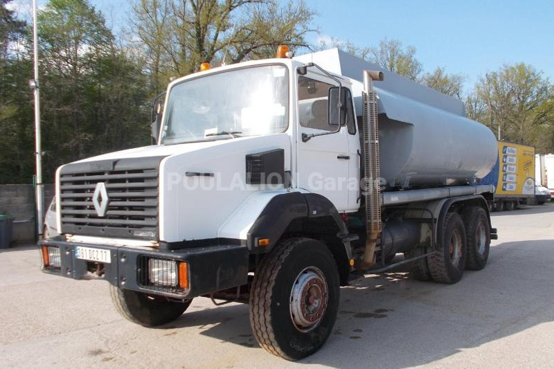 Camion Renault Gamme C 300 Citerne Alimentaire