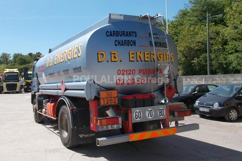 Camion volvo fl 619 citerne hydrocarbures garage g rard for Garage poids lourds paris