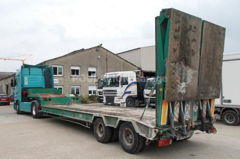 Semi-remorque ACTM S33215 Porte engins