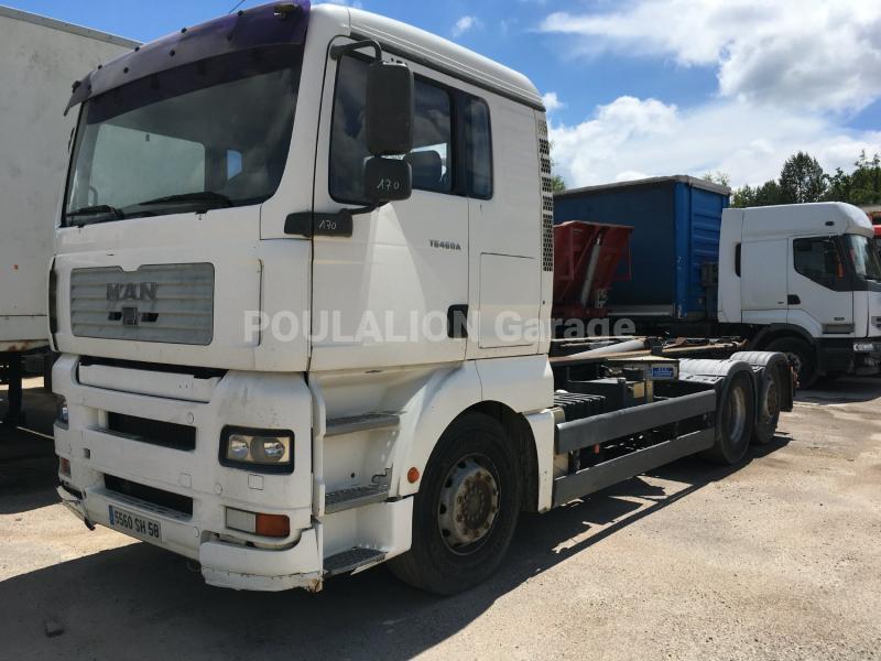 Camion MAN TG 460 A Polybenne