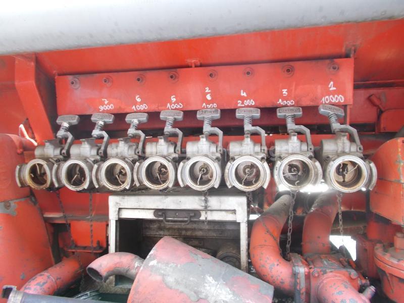 Semi-remorque Metaco Citerne Hydrocarbures
