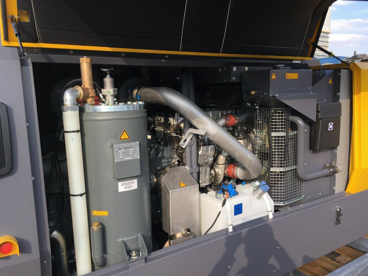 Matériel de chantier Atlas copco XAMS 367 MD Compresseur