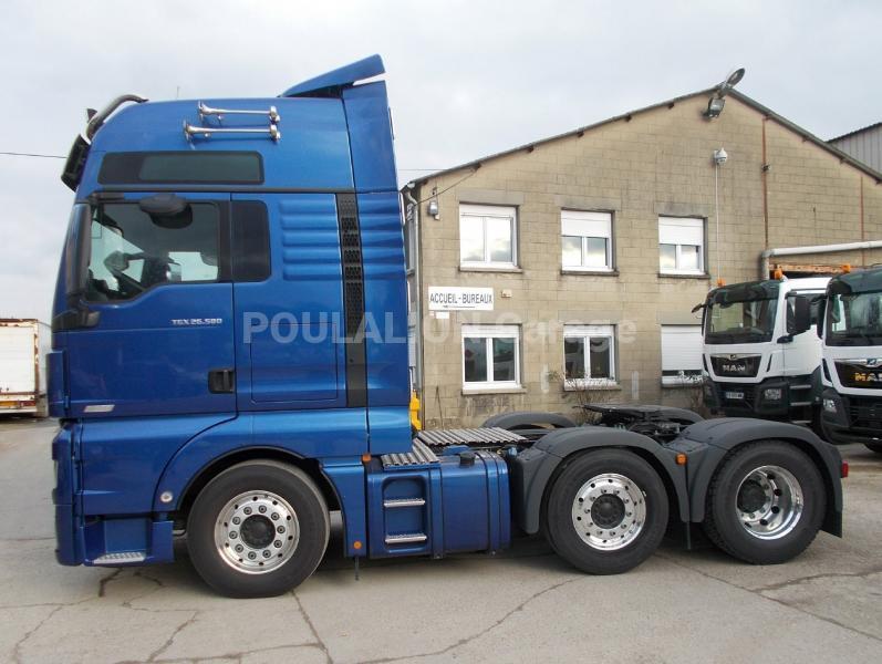 Tracteur MAN TGX 26.580