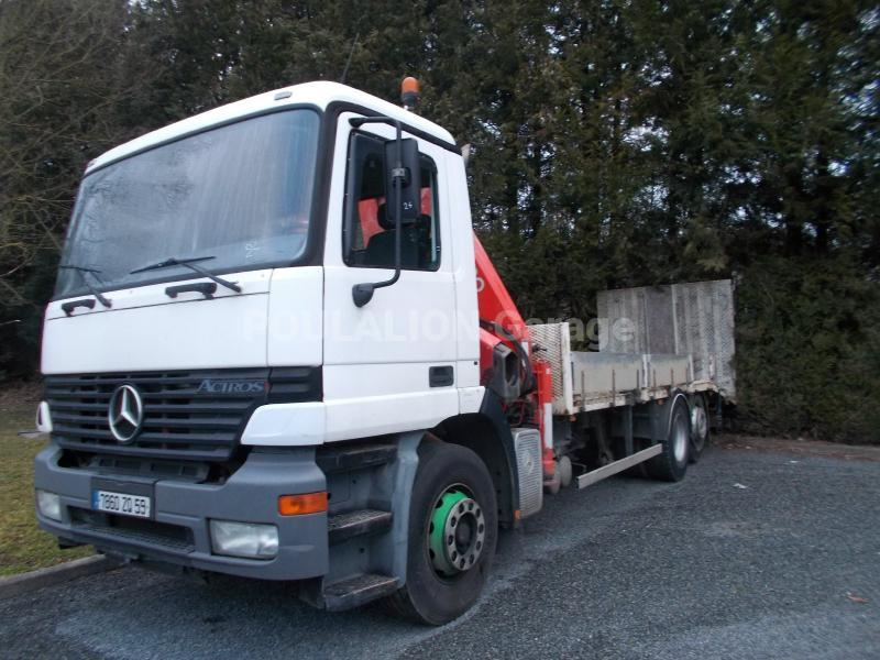 Camion Mercedes Actros 2531 Porte engins