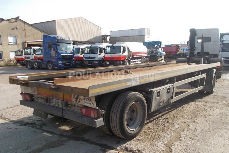 Remorque Trax Porte containers