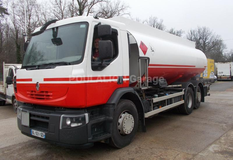 Camion Renault Premium 380 DXI Citerne Hydrocarbures
