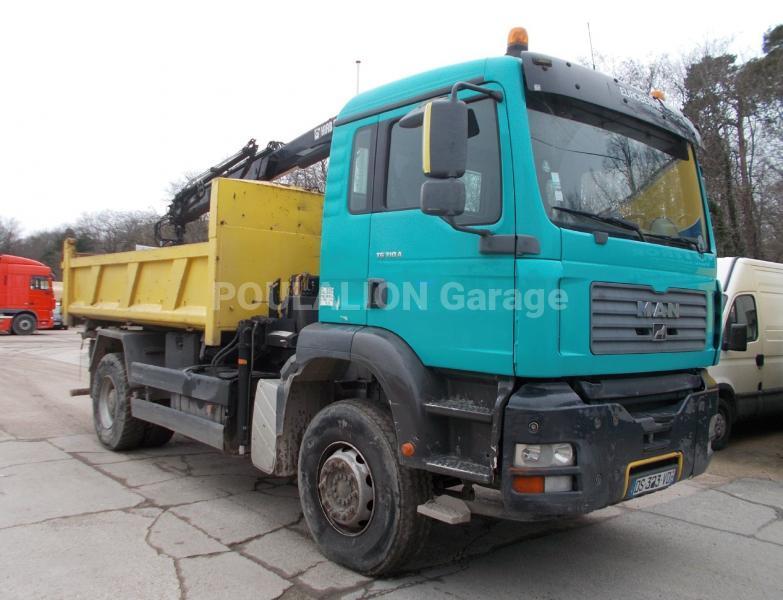 Camion MAN TG 310 A Benne Bi-benne