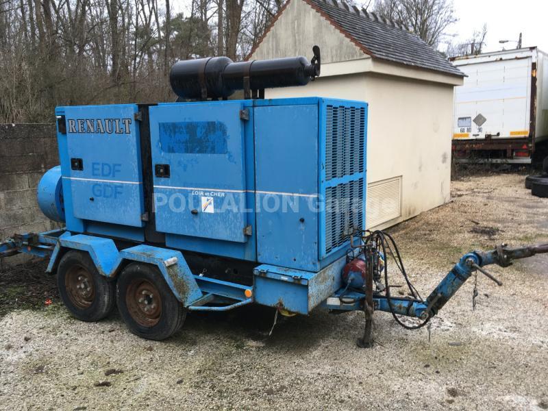 Matériel de chantier Leroy somer 100 kVA Groupe électrogène
