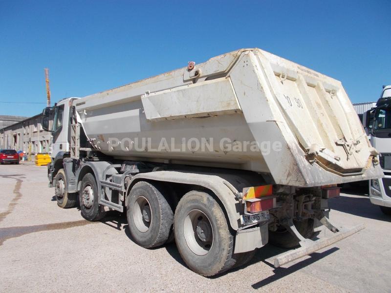 Camion Iveco Trakker AD 340 T 41 Benne Benne TP