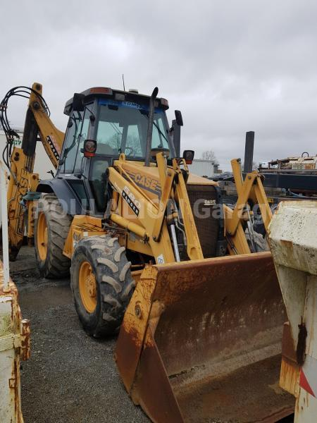 Tractopelle Case 580 T Tractopelle rigide