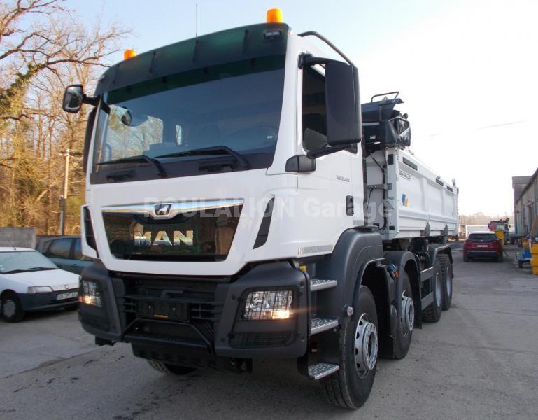 Camion MAN TGS 35.420 Benne Bi-benne