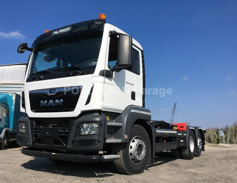 Camion MAN TGS 26.420 Polybenne