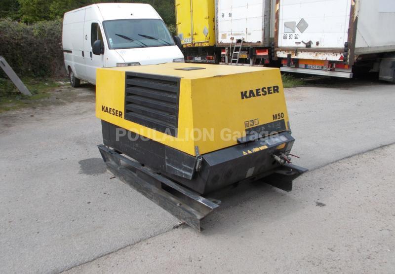 Matériel de chantier Kaeser M50 Compresseur