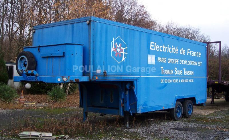 Semi remorque fourgon garage g rard poulalion for Garage poids lourds paris