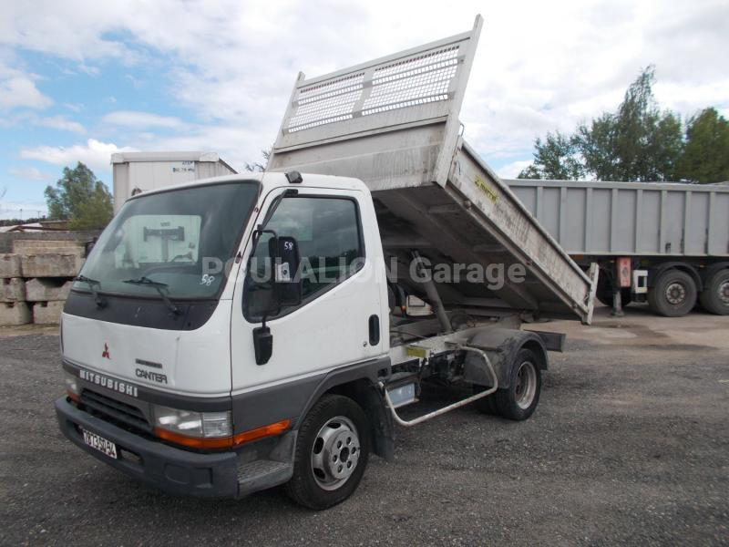 Utilitaire Mitsubishi Canter FB631 Benne Benne arrière