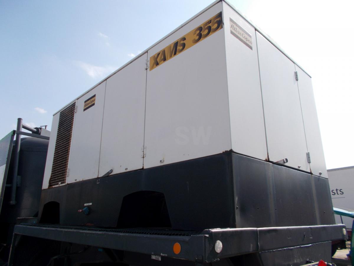 Matériel de chantier Atlas copco XAMS 355 Compresseur