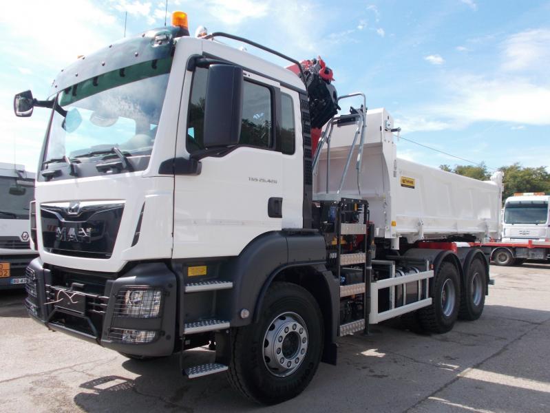 Camion MAN TGS 26.420 Benne Bi-benne