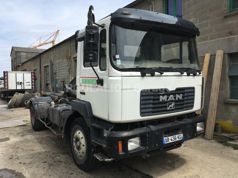 Camion MAN 19.314 Polybenne