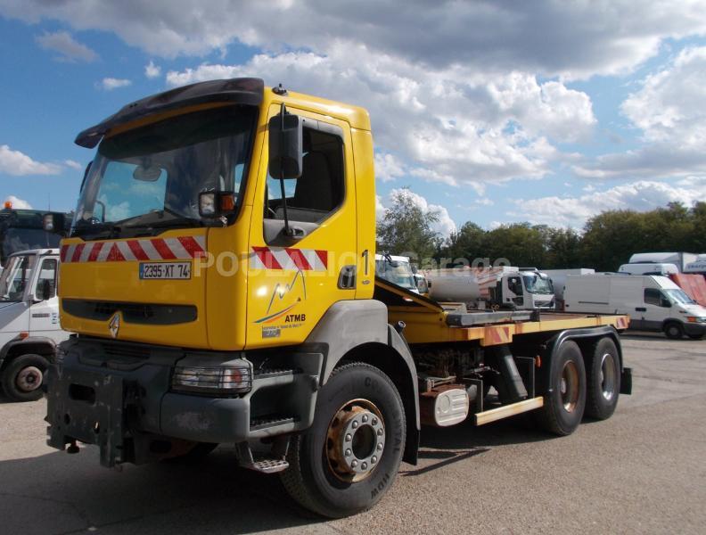 Camion Renault Kerax 380 Plateau