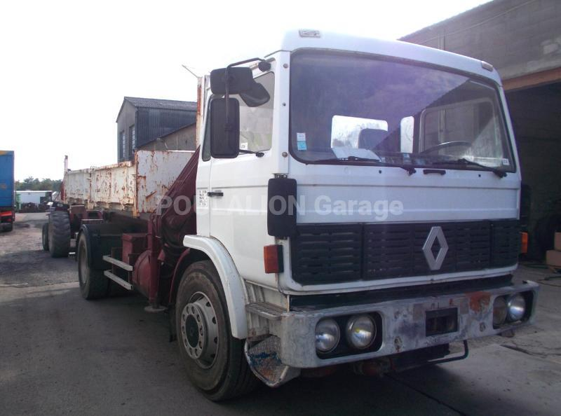 Camion Renault Gamme G 290 Polybenne