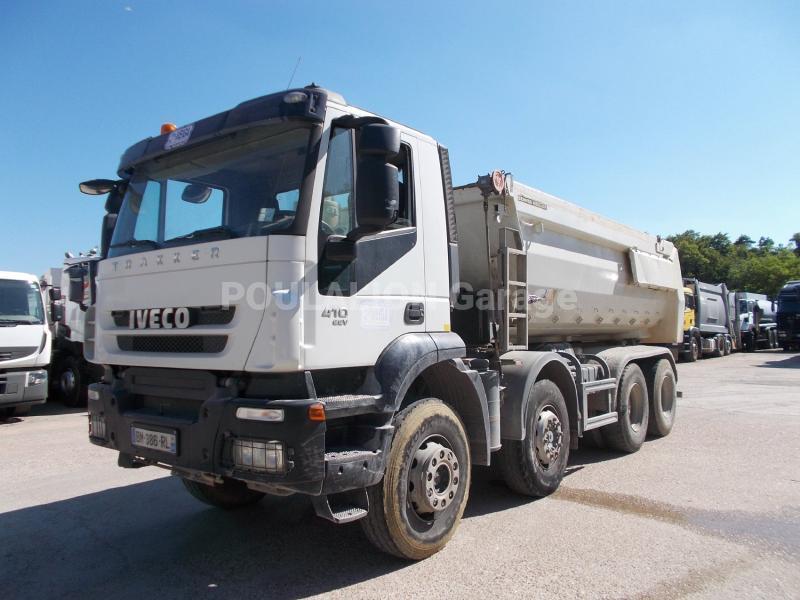 Camion Iveco Trakker AD/AT 340 T41 Benne Benne arrière