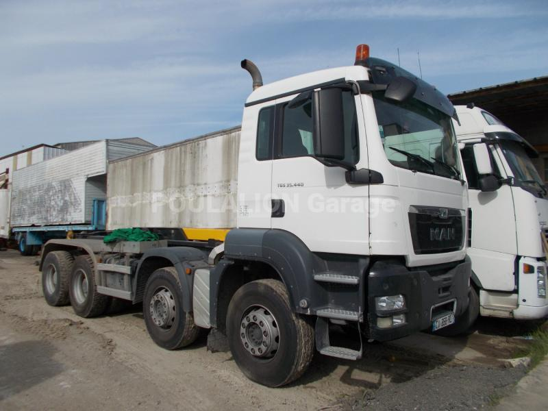 Camion MAN TGS 35.440 Polybenne